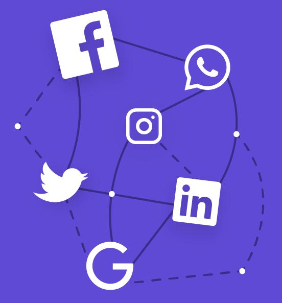 Brand Protection Social Media Illustration